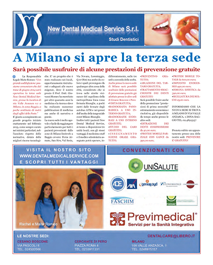 Il Punto Rhodense e New Dental Medical Service